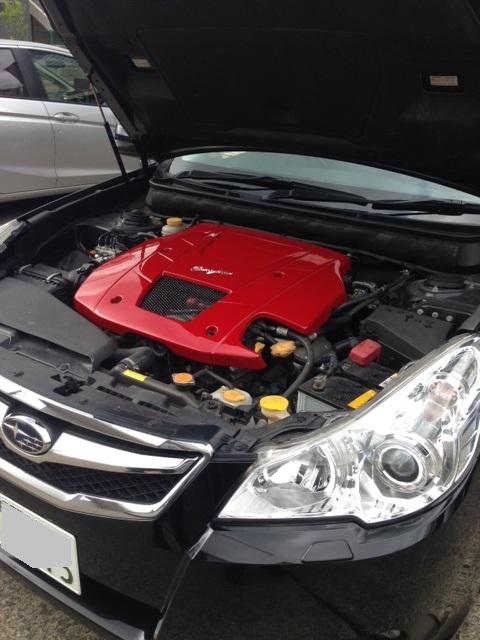 BRエンジンカバー赤2